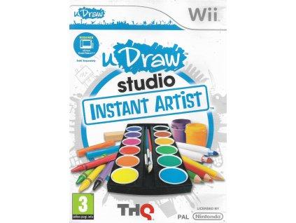 uDRAW STUDIO INSTANT ARTIST (WII BAZAR)