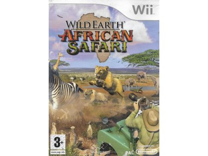 WILD EARTH AFRICAN SAFARI (WII BAZAR)