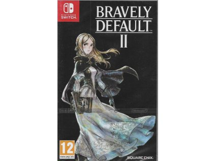 BRAVELY DEFAULT II (SWITCH NOVÁ)