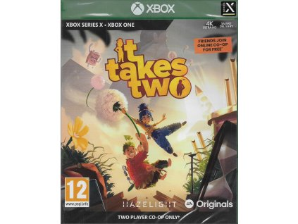 IT TAKES TWO (XBOX ONE & SERIES NOVÁ)