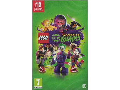 LEGO DC SUPER VILLAINS (SWITCH NOVÁ)