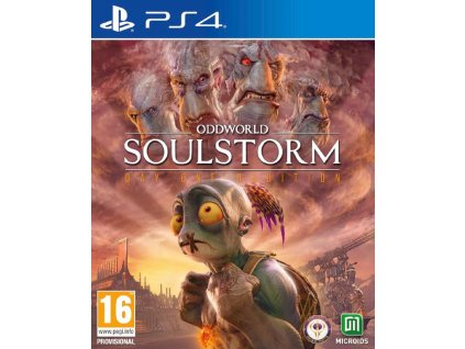 ODDWORLD SOULSTORM DAY ONE ODDITION (PS4 NOVÁ)