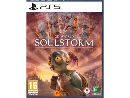 ODDWORLD SOULSTORM DAY ONE ODDITION (PS5 NOVÁ)
