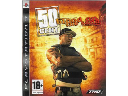50 CENT BLOOD O THE SAND (PS3 bazar)