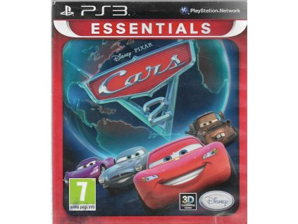 DISNEY PIXAR CARS 2 (PS3 bazar)