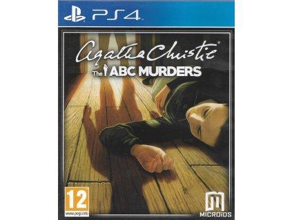 AGATHA CHRISTIE THE ABC MURDERS (PS4 BAZAR)