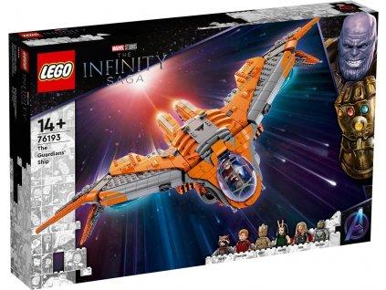 LEGO THE INFINITE SAGA THE GUARDIANS' SHIP