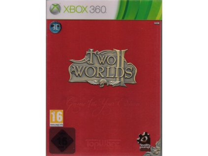 TWO WORLDS II GAME OF THE YEAR EDITION ROYAL RED BOX (XBOX 360 BAZAR)