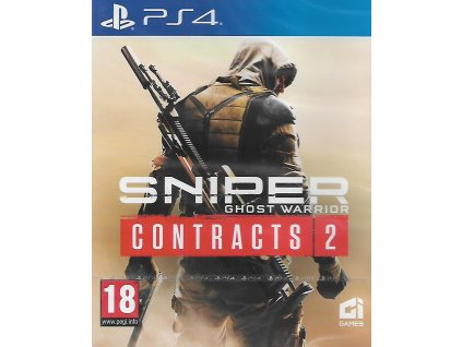 SNIPER GHOST WARRIOR CONTRACTS 2 (PS4 NOVÁ)