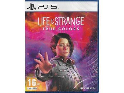 LIFE IS STRANGE TRUE COLORS (PS5 NOVÁ)