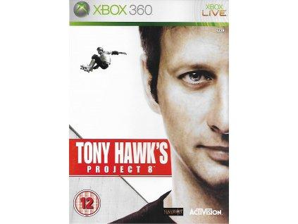 TONY HAWK'S PROJECT 8 (XBOX 360 BAZAR)