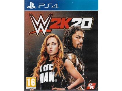 WWE 2K20 (PS4 BAZAR)