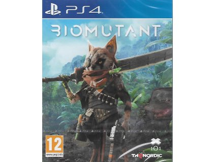 BIOMUTANT (PS4 NOVÁ)