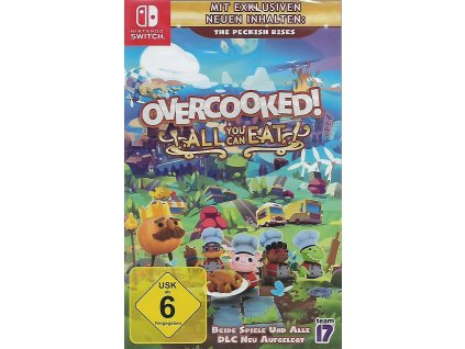 OVERCOOKED! ALL YOUCAN EAT (SWITCH NOVÁ)