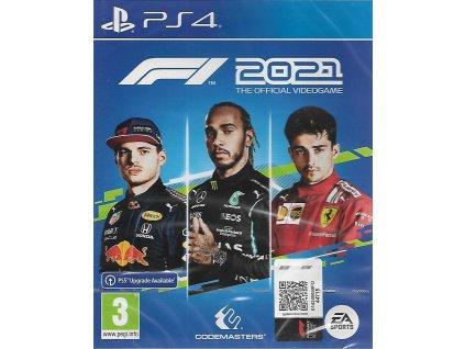 F1 2021 THE OFFICIAL VIDEOGAME (PS4 NOVÁ)