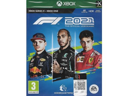 F1 2021 THE OFFICIAL VIDEOGAME (XBOX ONE NOVÁ)