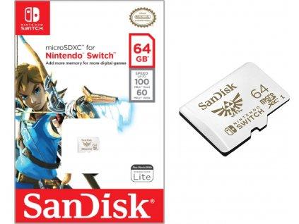 SANDISK MICRO SDXC 64GB