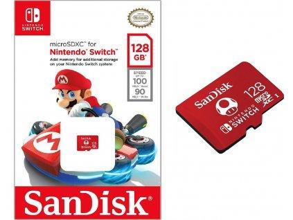 SANDISK MICRO SDXC 128GB