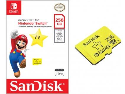SANDISK MICRO SDXC 256GB