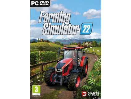 FARMING SIMULATOR 22 (PC NOVÁ)