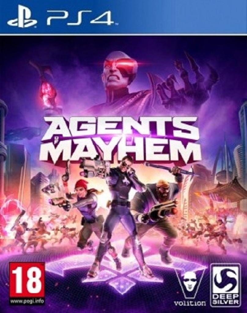 AGENTS OF MAYHEM (PS4 - bazar)
