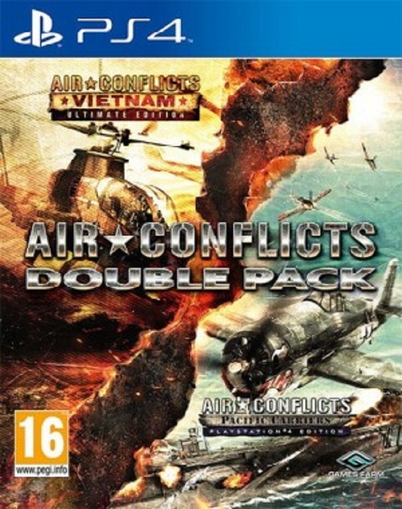 AIR CONFLICTS DOUBLE PACK (PS4 - bazar)