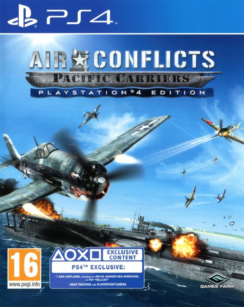 AIR CONFLICT PACIFIC CARRIERS (PS4 - bazar)