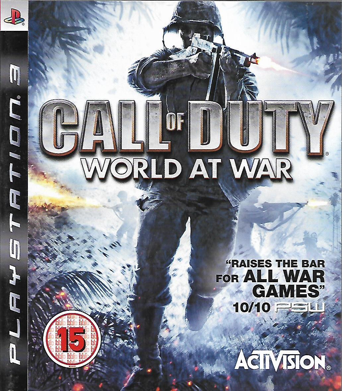 CALL OF DUTY WORLD AT WAR (PS3 - bazar)