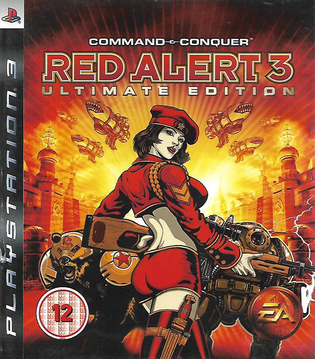 COMMAND & CONQUER - RED ALERT 3 (PS3 - bazar)