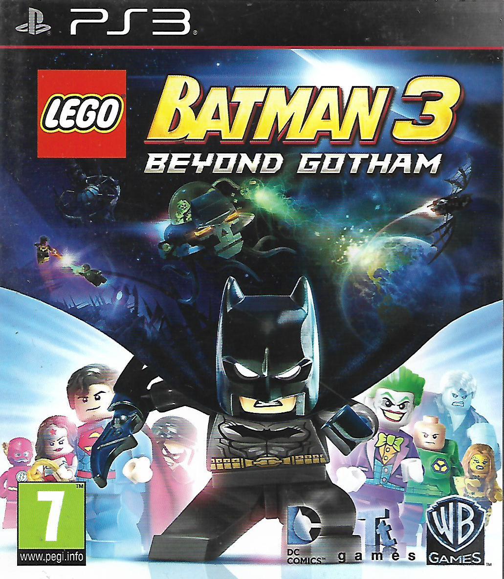 LEGO BATMAN 3 - BEYOND GOTHAM (PS3 - bazar)