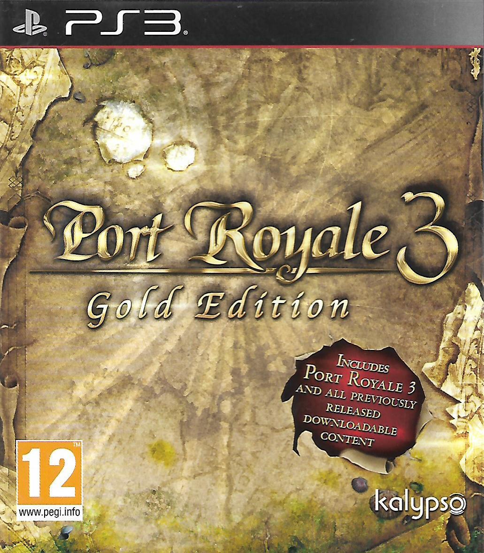 PORT ROYALE 3 - GOLD EDITION (PS3 - bazar)