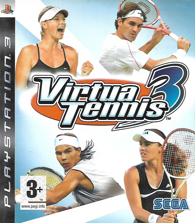 VIRTUA TENNIS 3 (PS3 - bazar)