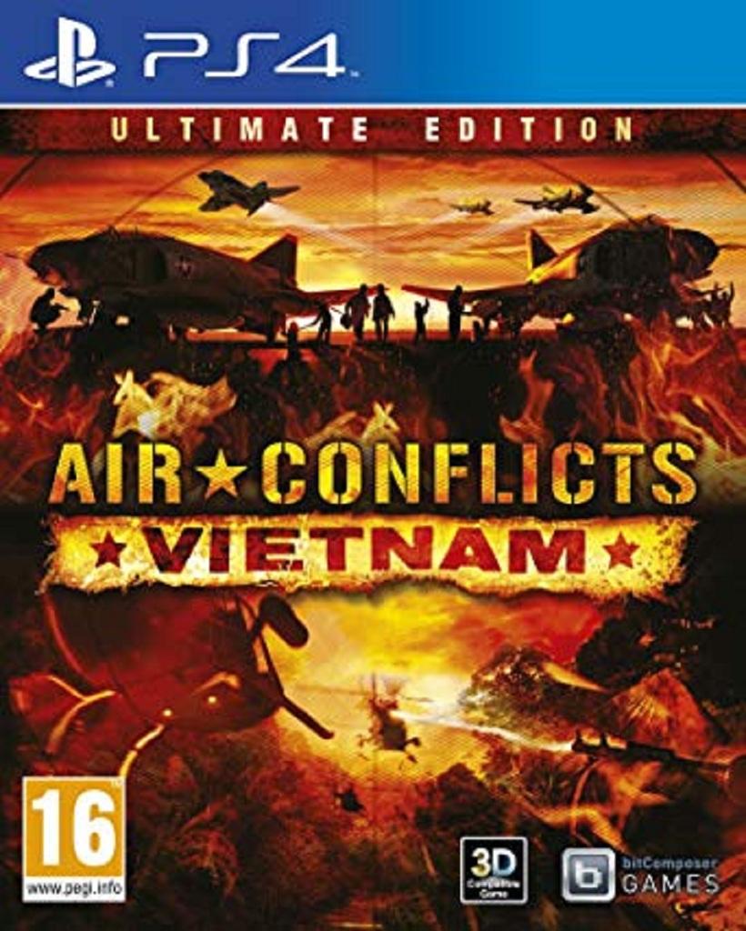 AIR CONFLICTS VIETNAM (PS4 - bazar)