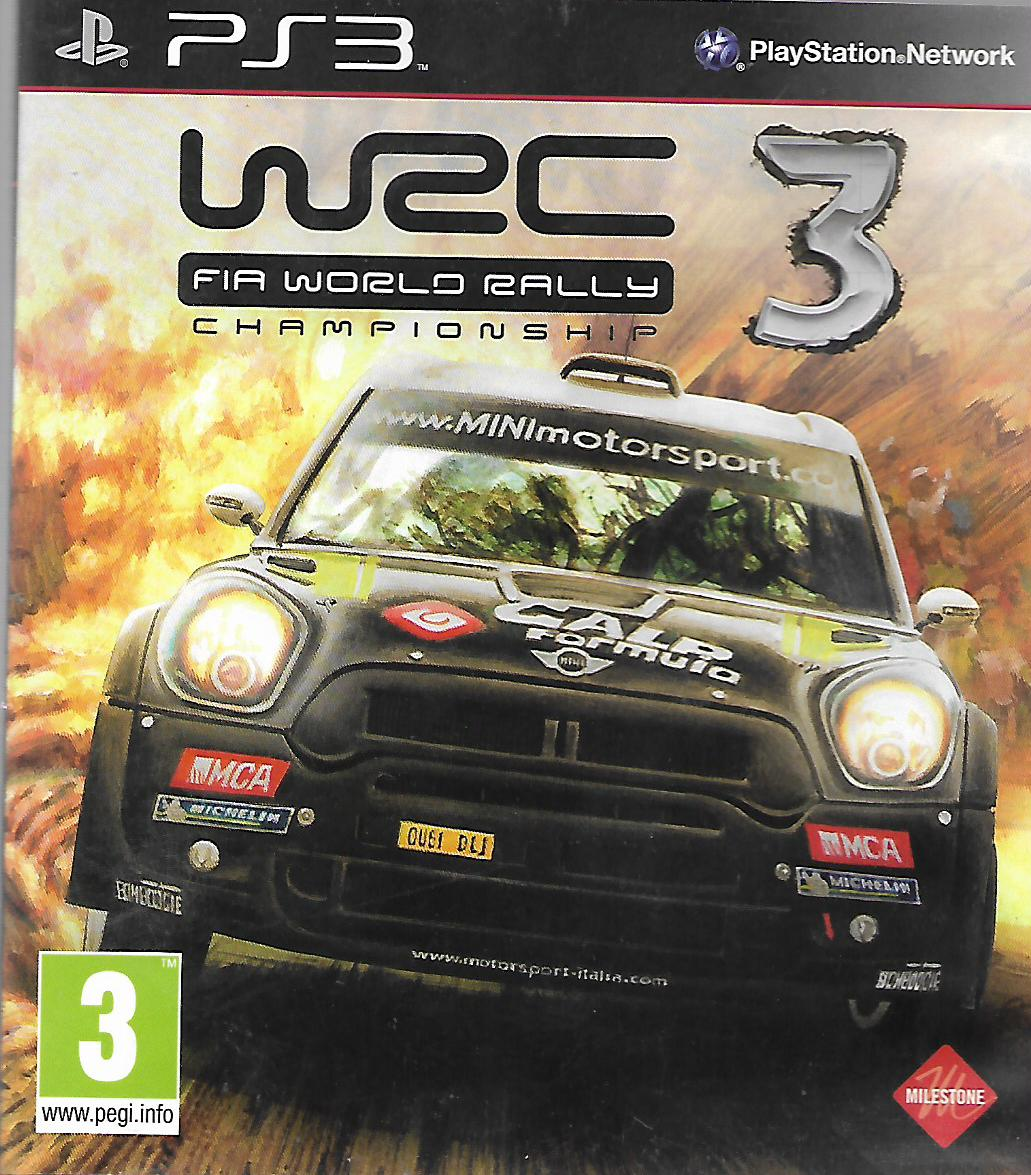 WRC 3 - FIA WORLD RALLY CHAMPIONSHIP (PS3 - bazar)