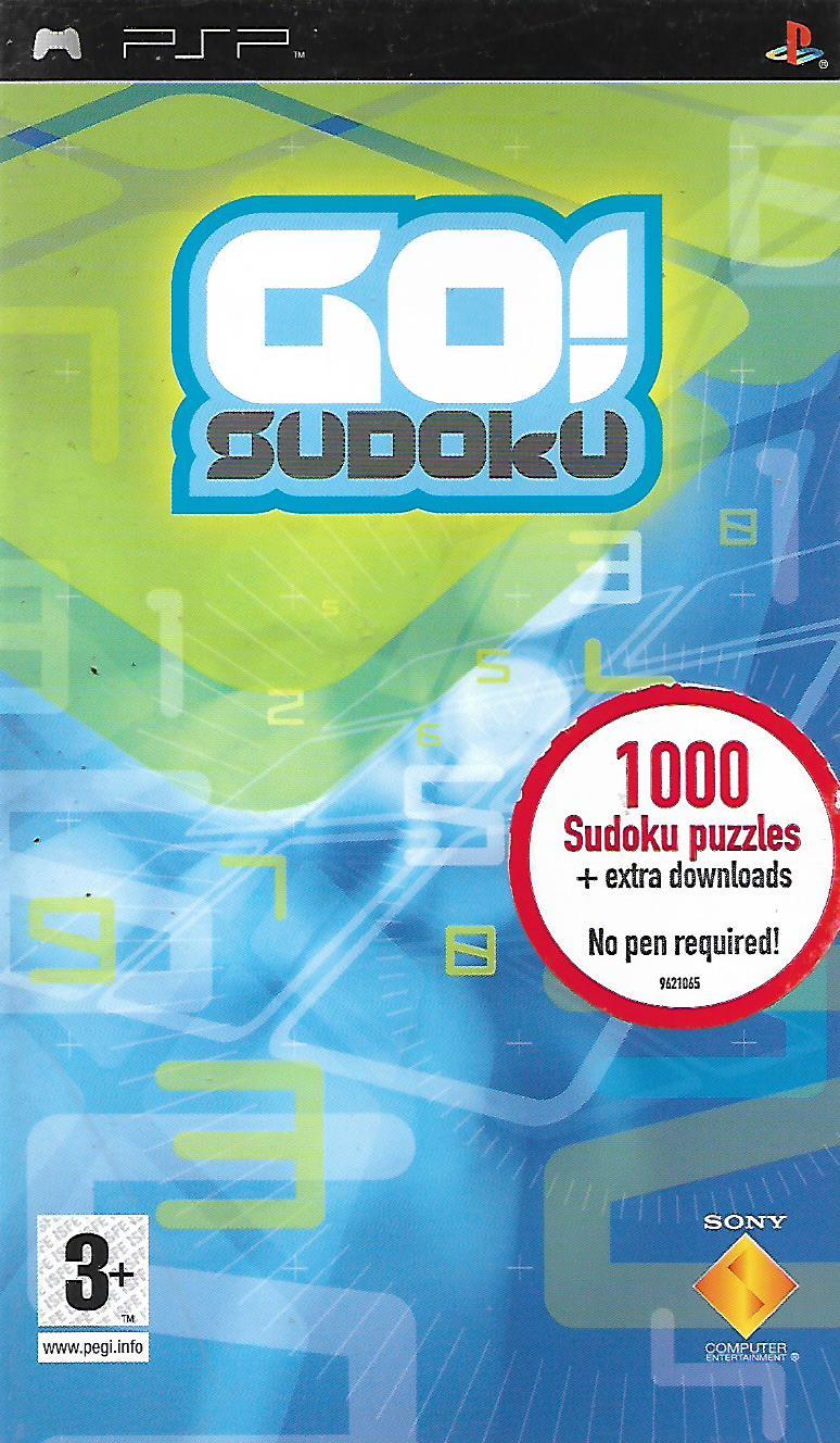 GO! SUDOKU (PSP - bazar)