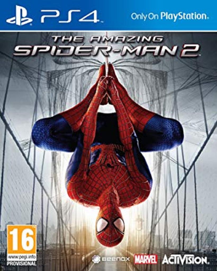 AMAZING SPIDER-MAN 2 (PS4 - bazar)
