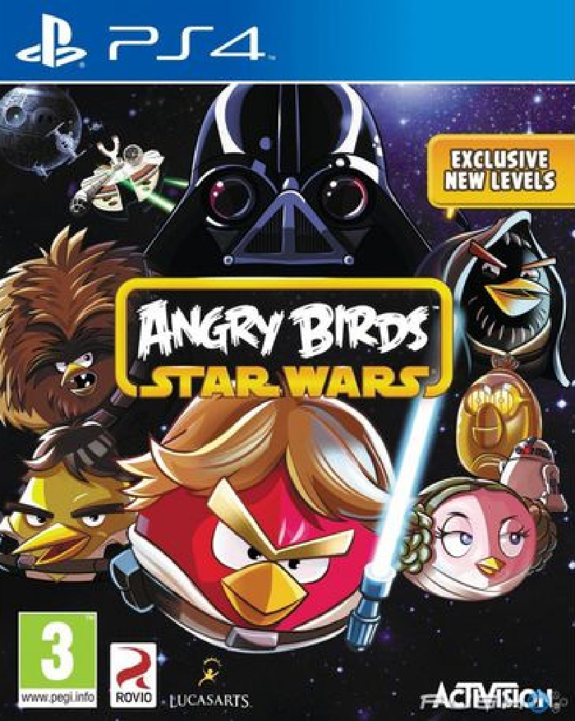 ANGRY BIRDS STAR WARS (PS4 - bazar)