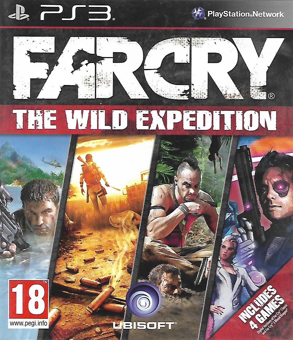 FAR CRY 2 + FAR CRY 3 (PS3 - bazar)