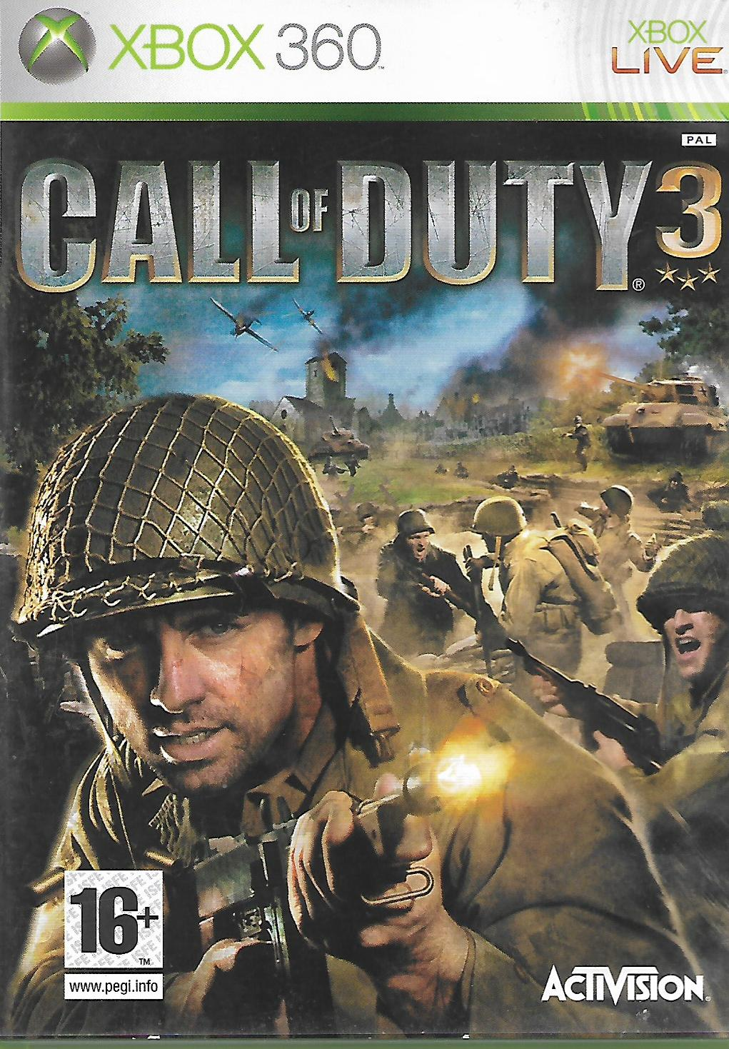 CALL OF DUTY 3 (XBOX 360 - bazar)