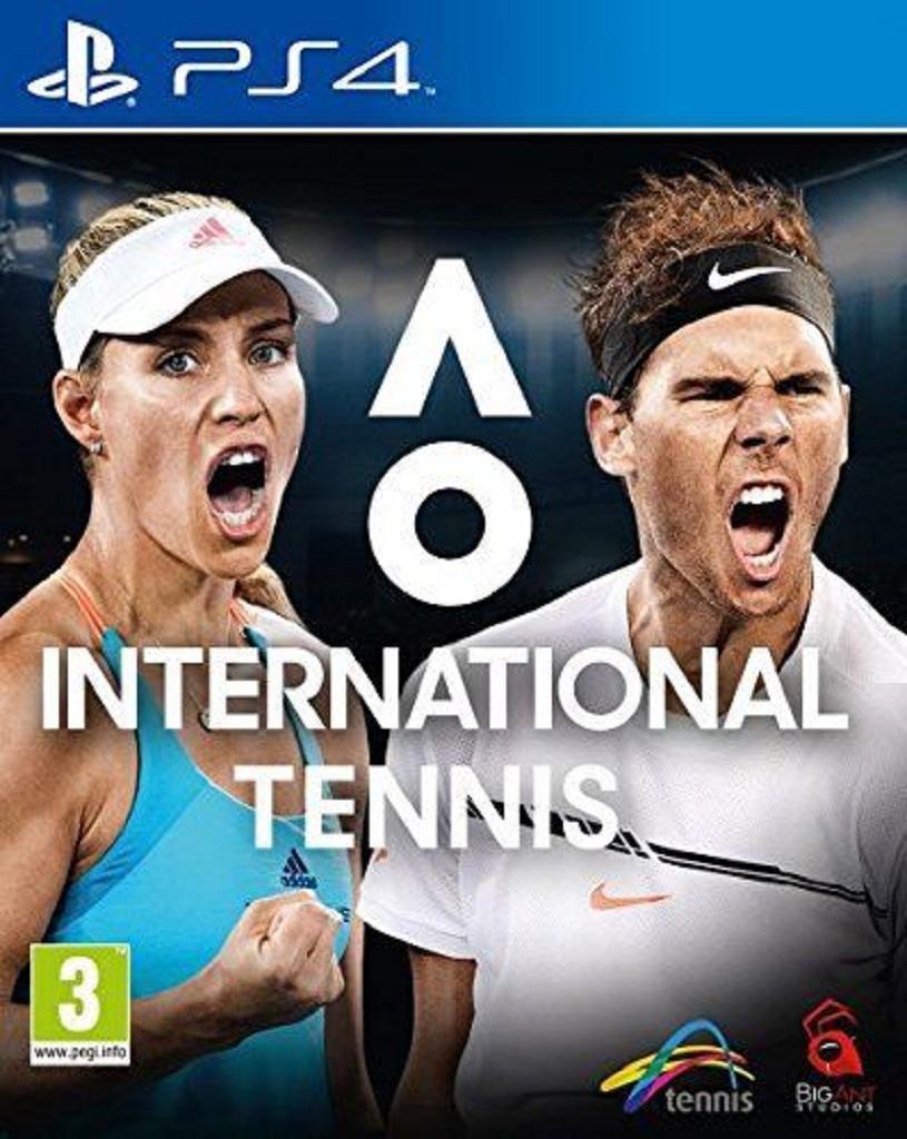 AO INTERNATIONAL TENNIS (PS4 - bazar)