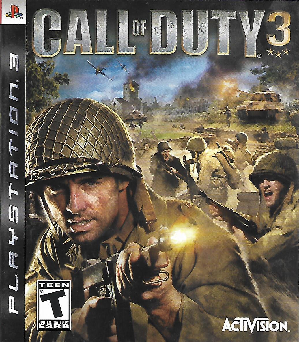 CALL OF DUTY 3 (PS3 - bazar)