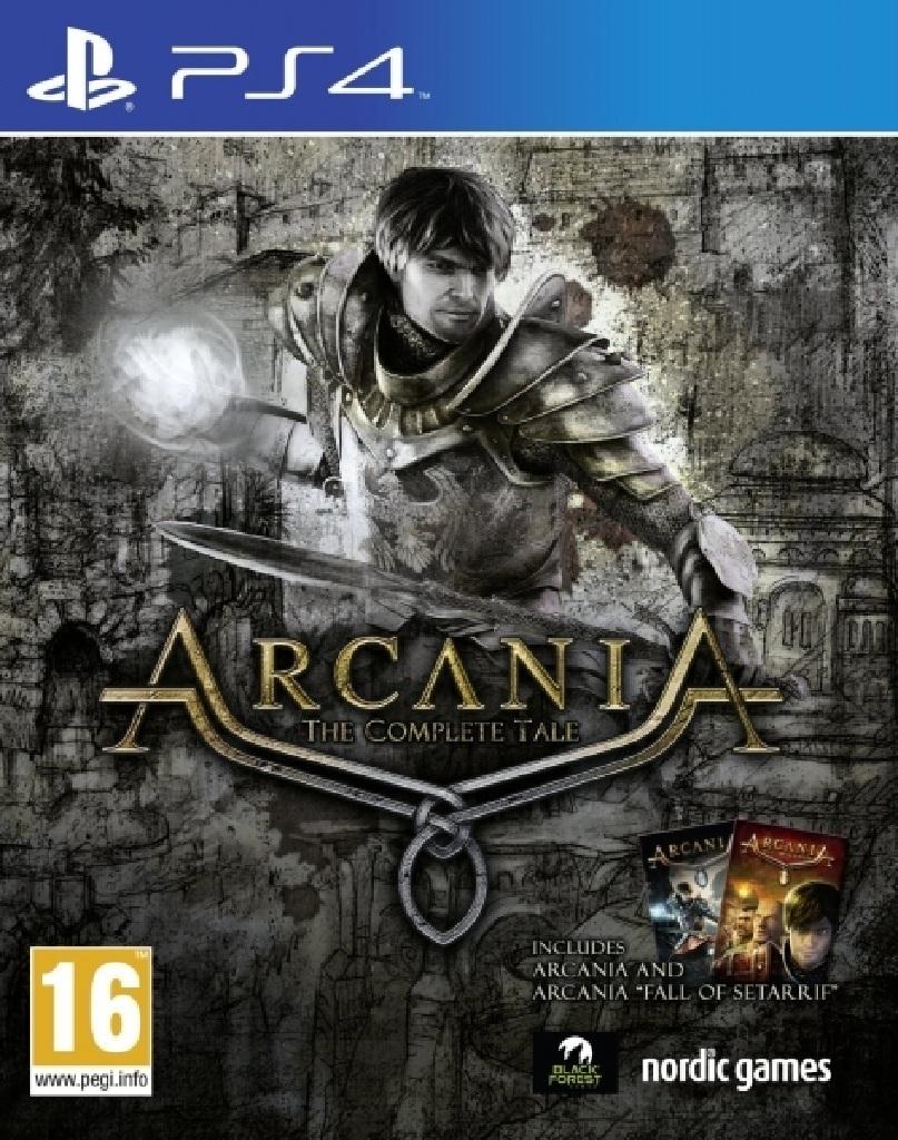 ARCANIA - THE COMPLETE TALE (PS4 - bazar)