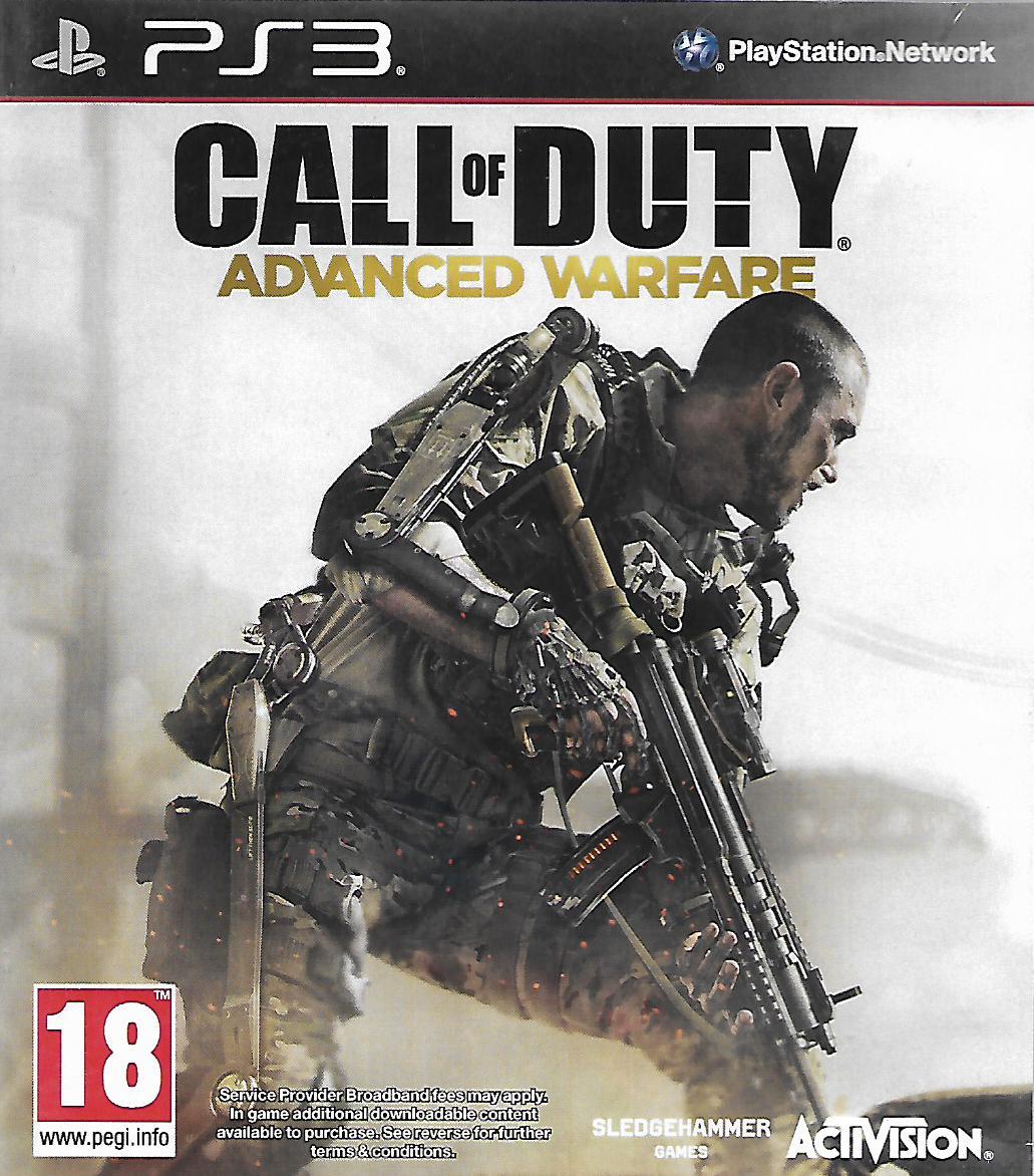 CALL OF DUTY - ADVANCED WARFARE (PS3 - bazar)