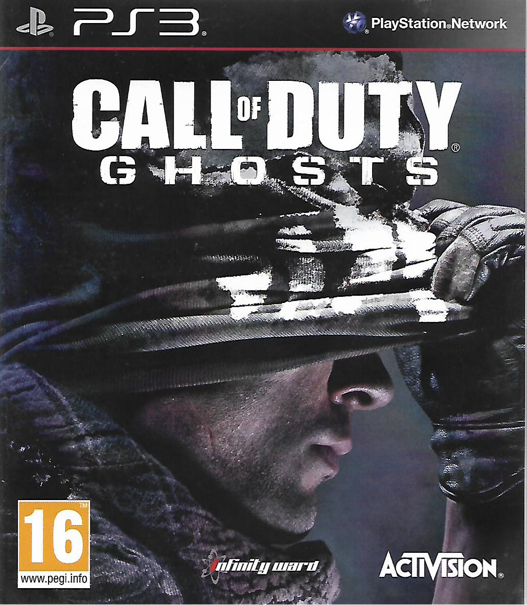 CALL OF DUTY GHOSTS (PS3 - bazar)