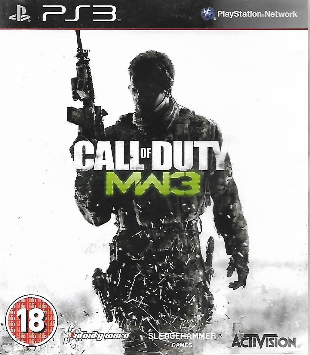 CALL OF DUTY - MODERN WARFARE 3 (PS3 - bazar)