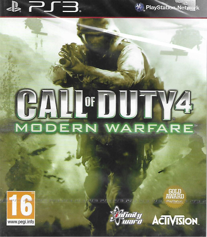 CALL OF DUTY 4 - MODERN WARFARE (PS3 - bazar)