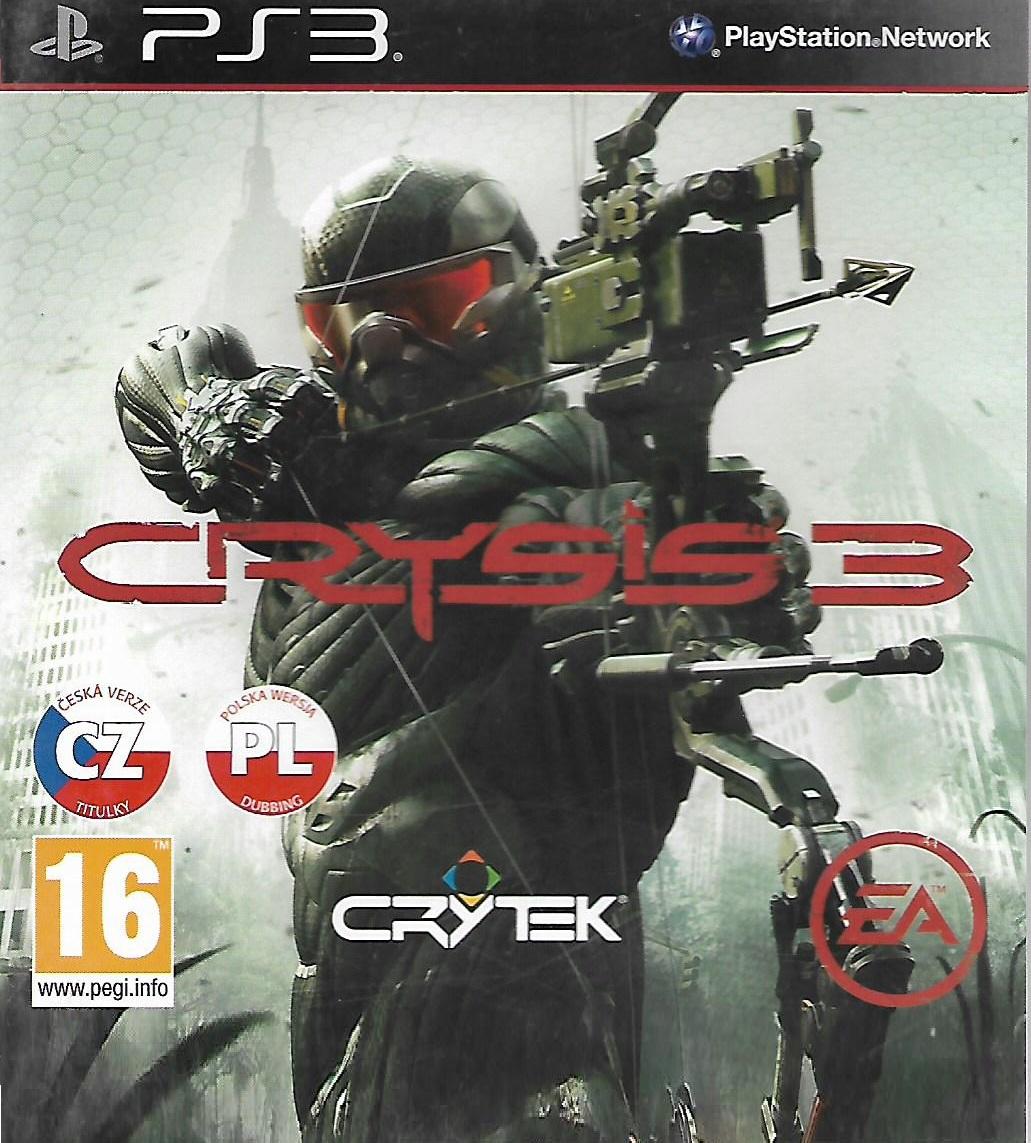 CRYSIS 3 (PS3 - bazar)