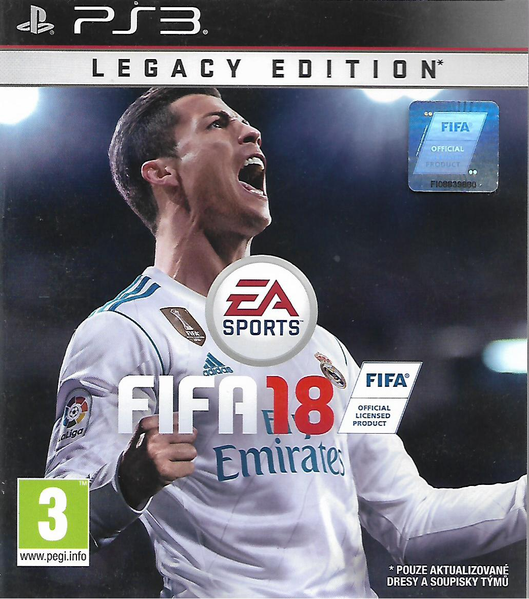 FIFA 18 (PS3 - bazar)