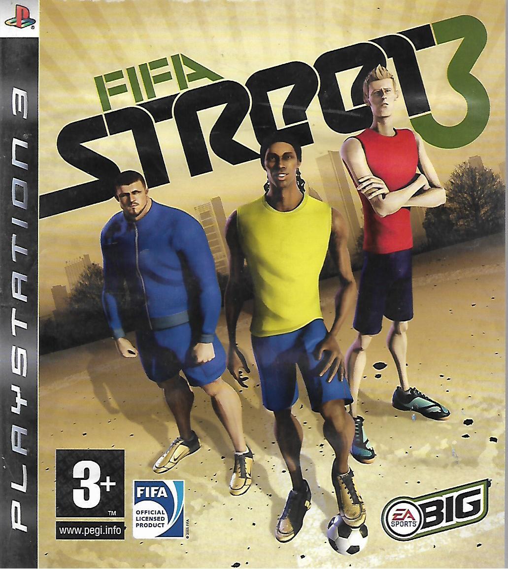 FIFA STREET 3 (PS3 - bazar)