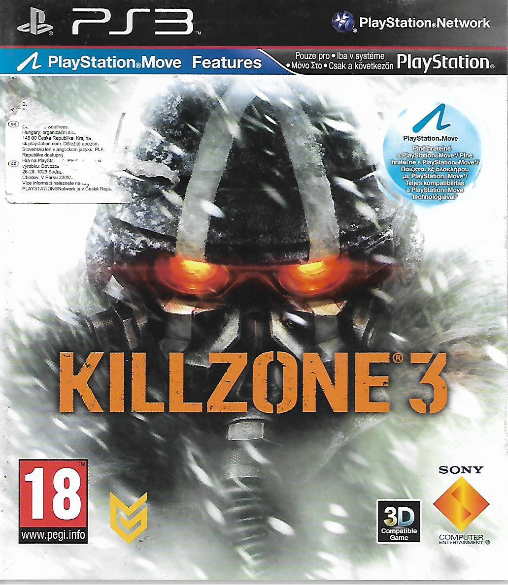 KILLZONE 3 (PS3 - bazar)